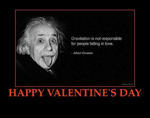 1060990993 Happy Valentines Day Love Einstein Quote